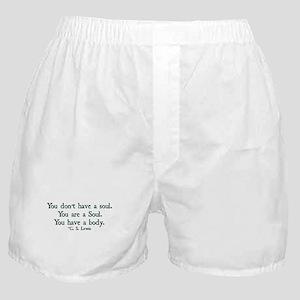 You Don't Have a Soul Boxer Shorts