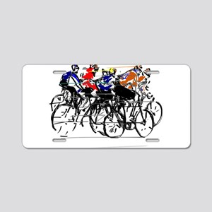 Tour de France Aluminum License Plate