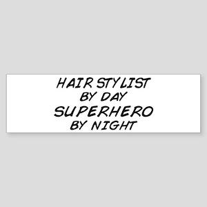 Hairstylist Superhero Bumper Sticker