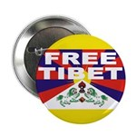 "Free Tibet 2.25"" Button (100 pack)"