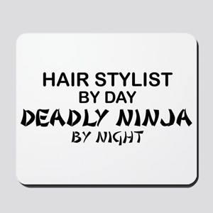 Hair Stylist Deadly Ninja Mousepad