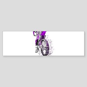 Motorcross Bumper Sticker