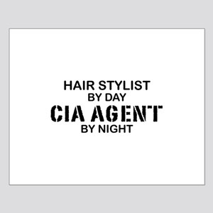 Hair Stylist CIA Agent Small Poster