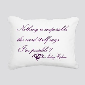 possible Rectangular Canvas Pillow