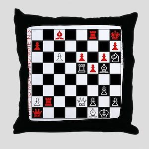 Throw Pillow - Chess problem