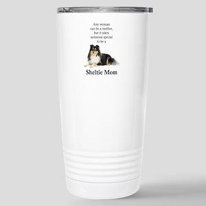 Tri-Color Sheltie Mom Mugs