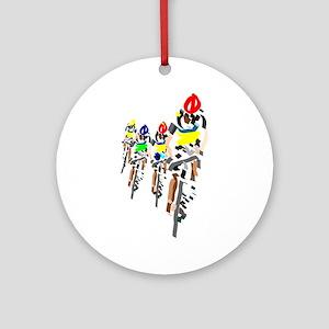 Bikers Round Ornament