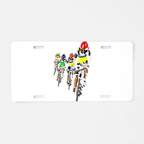 Bikers Aluminum License Plate