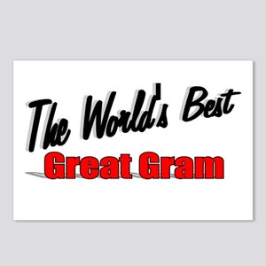 """""""The World's Best Great Gram"""" Postcards (Package o"""