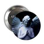 praying cemetery angel Button