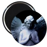 "praying cemetery angel 2.25"" Magnet (100 pack)"