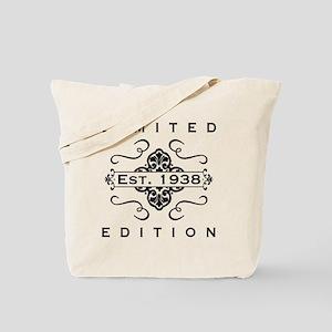 Est. 1938 Birth Year Tote Bag
