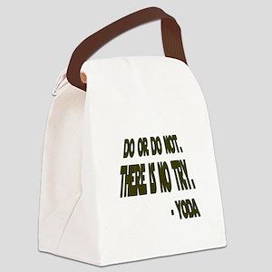 Yoda Canvas Lunch Bag