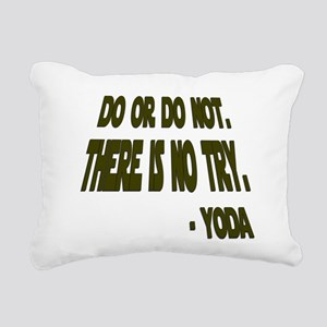 Yoda Rectangular Canvas Pillow