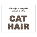 Cat Hair Small Poster