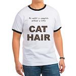 Cat Hair Ringer T