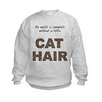 Cat Hair Kids Sweatshirt