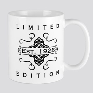 Est. 1928 Birth Year Mugs