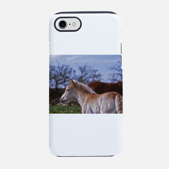 horses-in-spring iPhone 8/7 Tough Case
