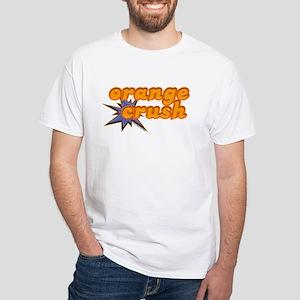 Orange Crush White T-Shirt