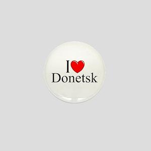 """""""I Love Donetsk"""" Mini Button"""