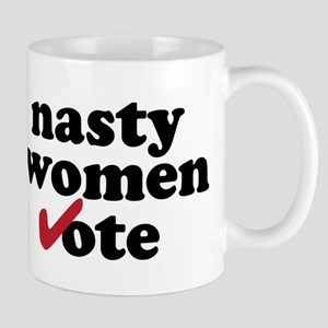 Nasty Women Vote Hillary Clinton Mugs