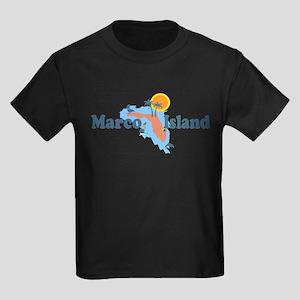 Marco Island - Map Design. T-Shirt