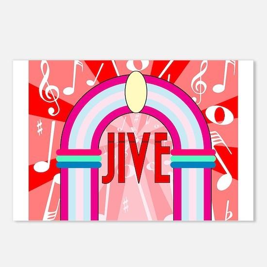 Jive Postcards (Package of 8)