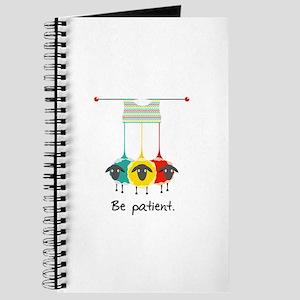 Be Patient Journal