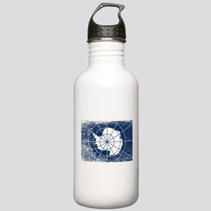 Flag of Antarctica Gru Stainless Water Bottle 1.0L
