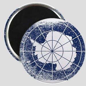 Flag of Antarctica Grunge Magnets