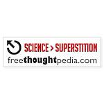 Science>Supersition Bumper Sticker!