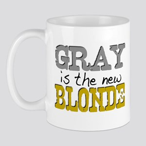 Gray is the new Blonde Mug