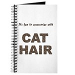 Accessorize With Cat Hair Journal