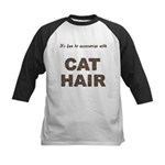 Accessorize With Cat Hair Kids Baseball Jersey