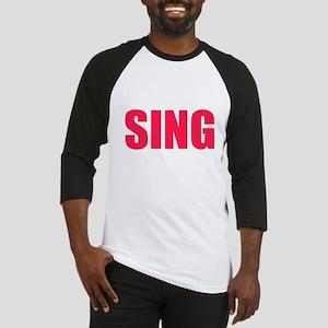 Sing Baseball Jersey