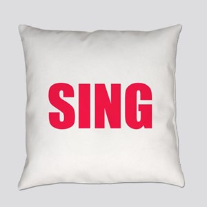 Sing Everyday Pillow