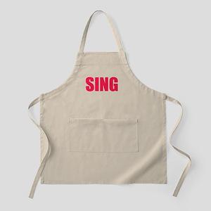 Sing Apron