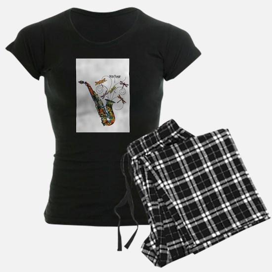 Wild Saxophone Pajamas