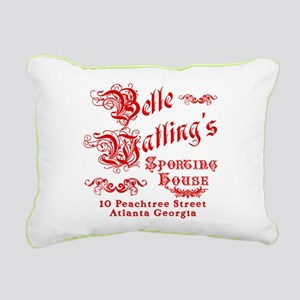 Belle Watling Sporting House Rectangular Canvas Pi