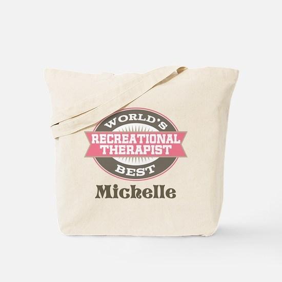 Recreational Therapist Custom Tote Bag