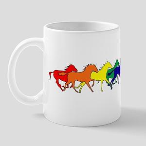 Horses Running Wild Mug