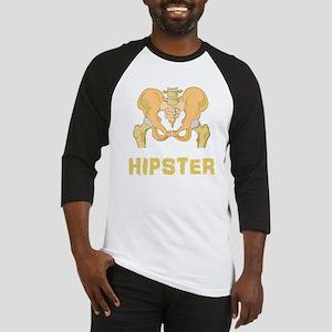 Hipster Hip Bone Baseball Jersey
