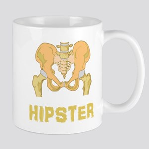 Hipster Hip Bone Mug