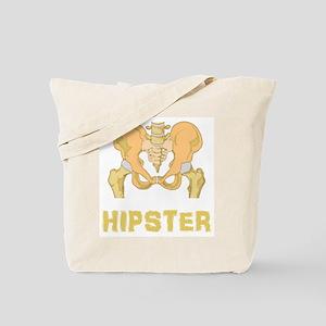Hipster Hip Bone Tote Bag