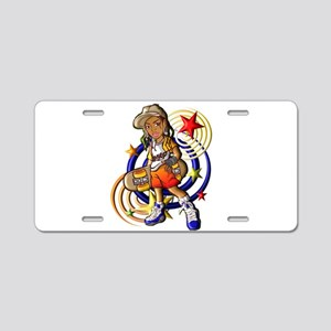Hip Hop Star Aluminum License Plate