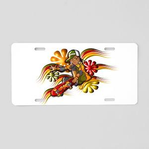HipHop Skate Star Aluminum License Plate