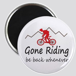 Gone riding be back whenever Magnets