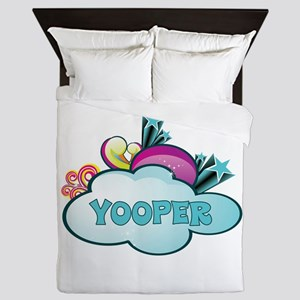 Retro Yooper Queen Duvet