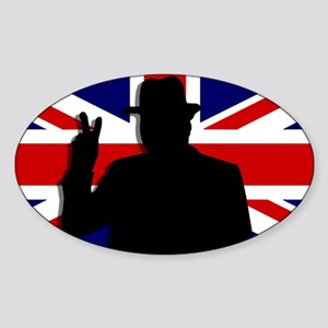 Winston Churchill Victory Sticker